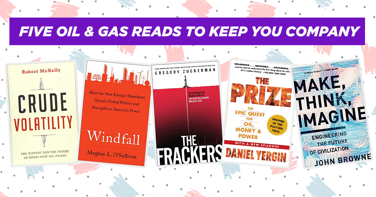 Five Oil  Gas Books to Read